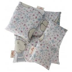 3er Set Häschen Kissen