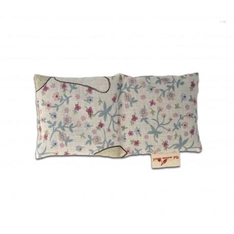 2-Kammer-Babykissen 18x10 cm Rapsfüllung