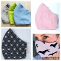 Mund- und Nasenmaske für Erwachsene