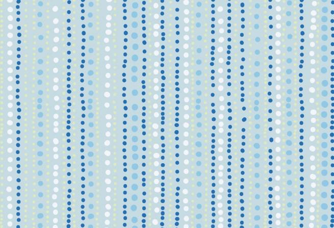 Blau Punkte gestreift