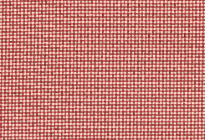 Rot-Beige kleinkariert