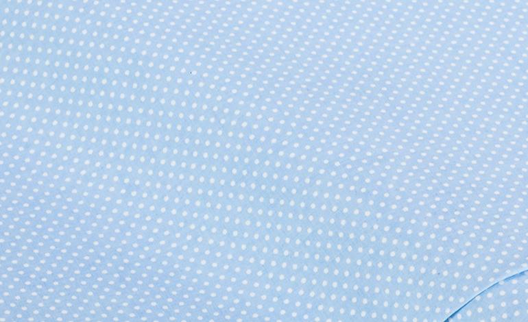 Hellblau Punkte